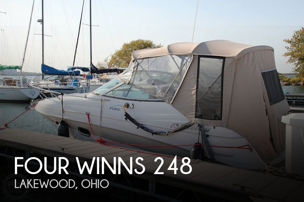 2006 Four Winns boat for sale, model of the boat is 248 Vista & Image # 1 of 40
