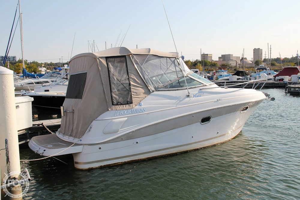 2006 Four Winns boat for sale, model of the boat is 248 Vista & Image # 33 of 40