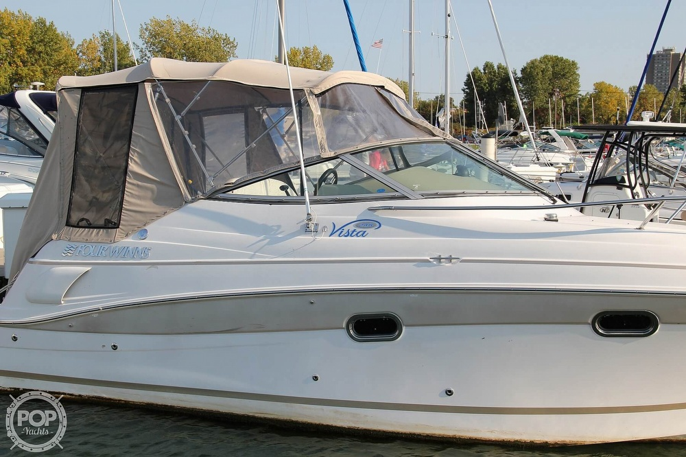 2006 Four Winns boat for sale, model of the boat is 248 Vista & Image # 34 of 40