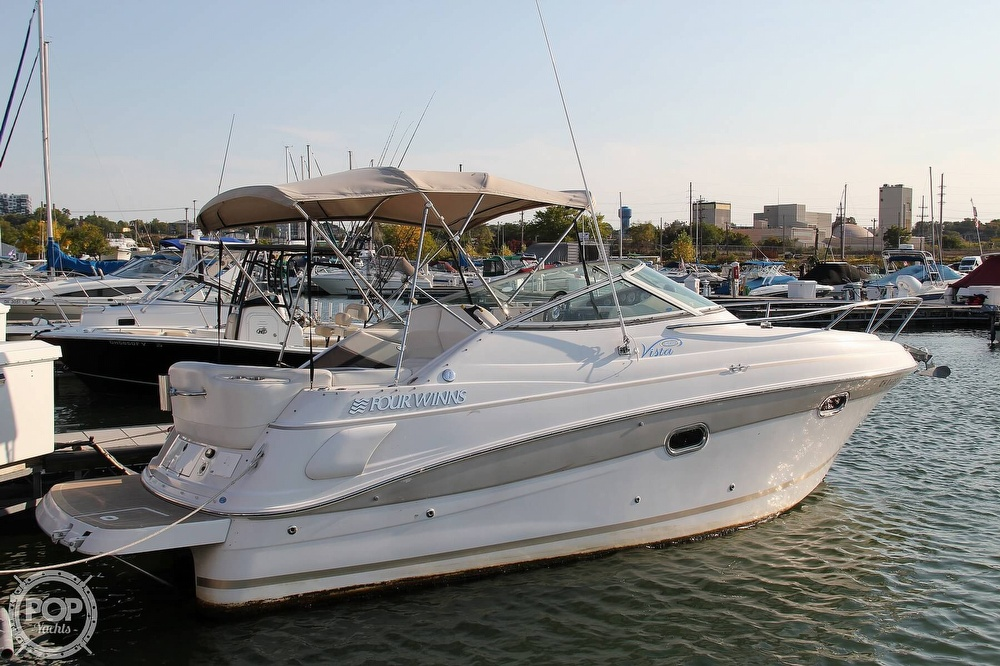 2006 Four Winns boat for sale, model of the boat is 248 Vista & Image # 3 of 40
