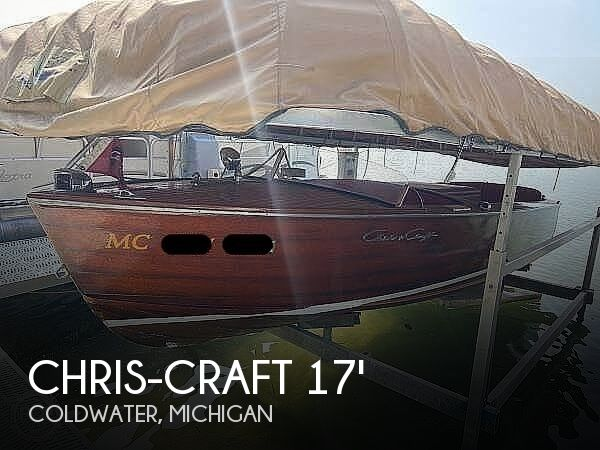 1953 Chris Craft boat for sale, model of the boat is Utility 771-C & Image # 1 of 4