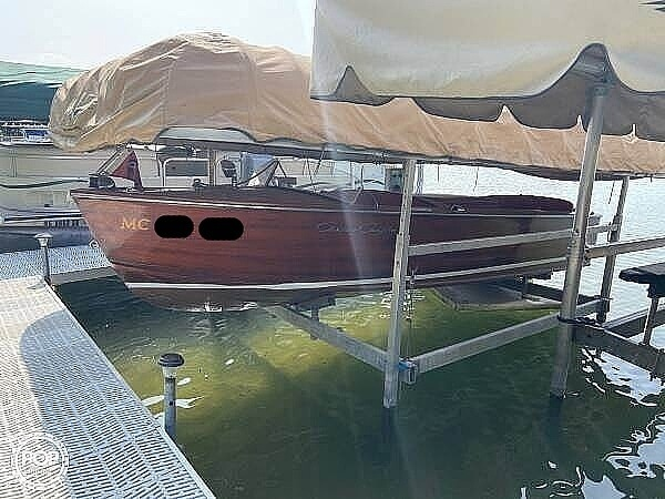 1953 Chris Craft boat for sale, model of the boat is Utility 771-C & Image # 2 of 4