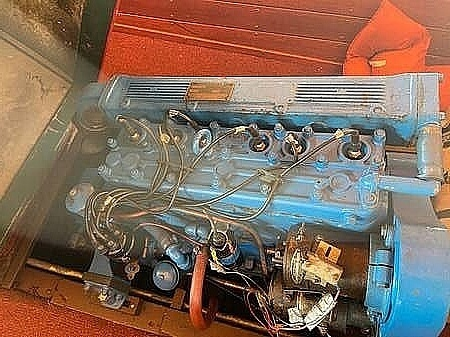 1953 Chris Craft boat for sale, model of the boat is Utility 771-C & Image # 3 of 4