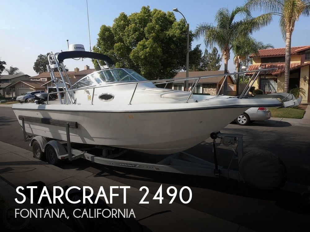 1998 Starcraft boat for sale, model of the boat is 2490 Expedition & Image # 1 of 40