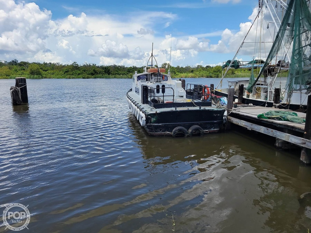 1973 Breaux boat for sale, model of the boat is 40' Crew Boat & Image # 13 of 40