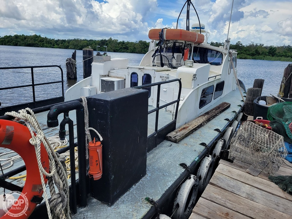 1973 Breaux boat for sale, model of the boat is 40' Crew Boat & Image # 3 of 40