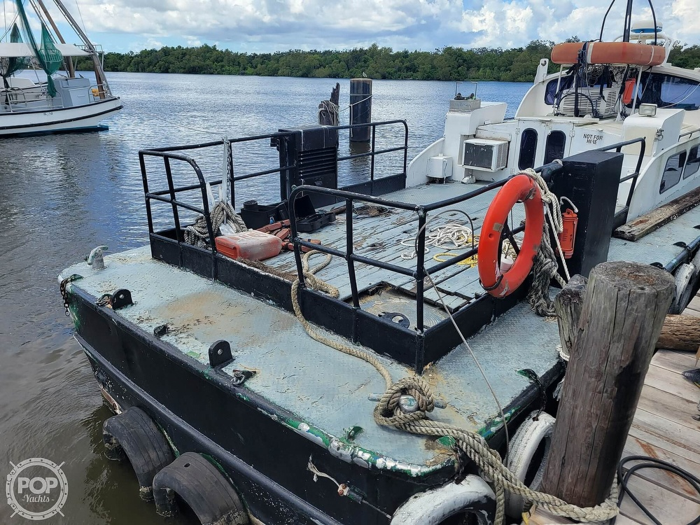 1973 Breaux boat for sale, model of the boat is 40' Crew Boat & Image # 17 of 40