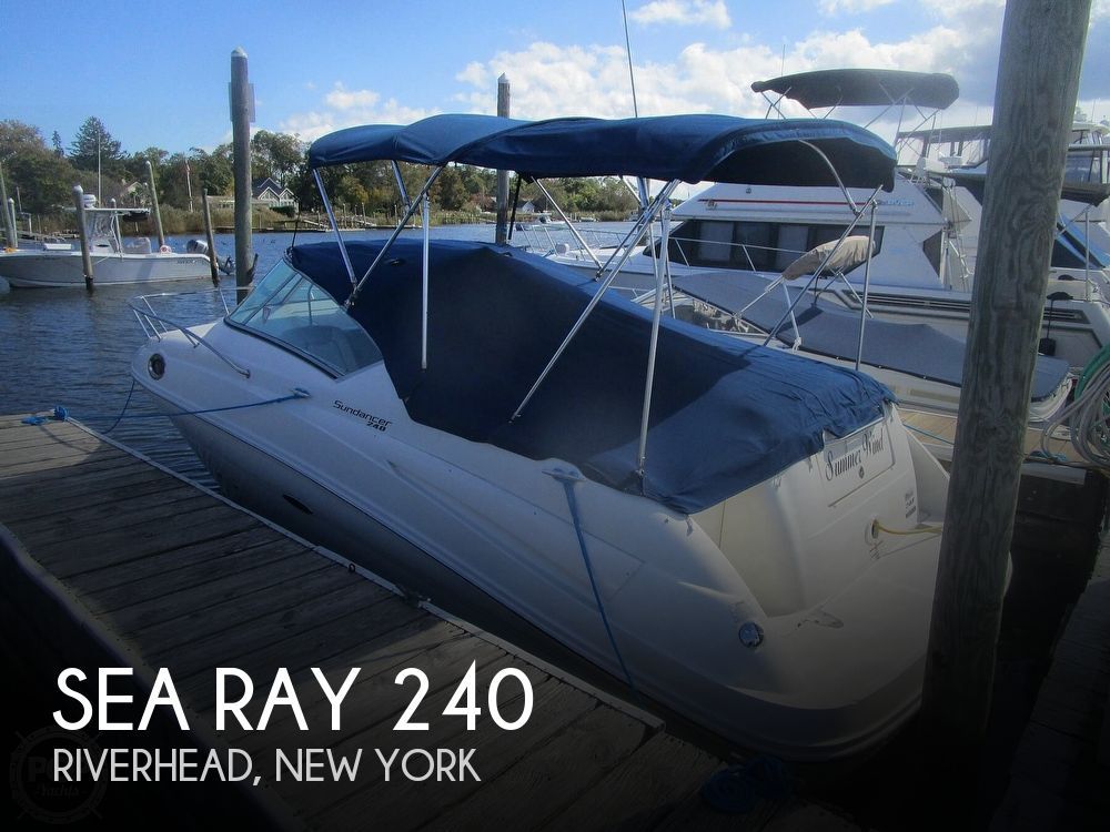 2010 Sea Ray boat for sale, model of the boat is 240 Sundancer & Image # 1 of 40