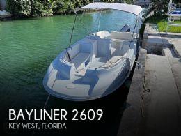 1996 Bayliner 2609 Rendezvous