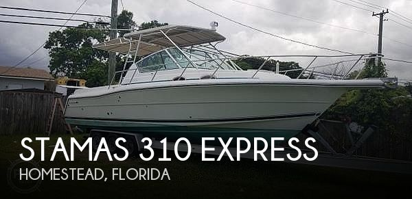 2000 Stamas boat for sale, model of the boat is 310 Express & Image # 1 of 40
