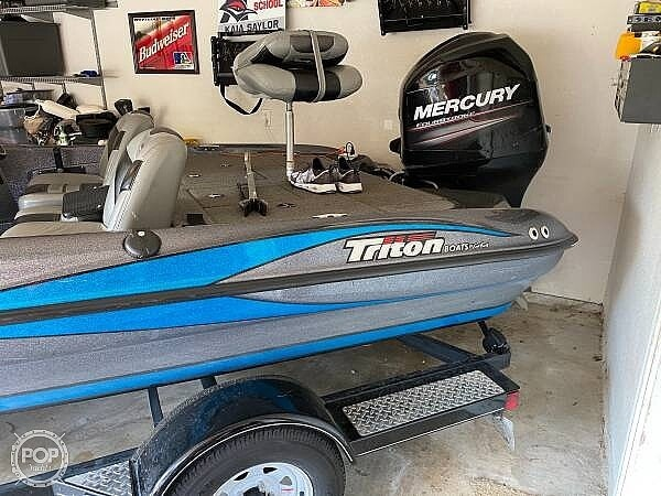 2014 Triton boat for sale, model of the boat is 17 Pro & Image # 6 of 40