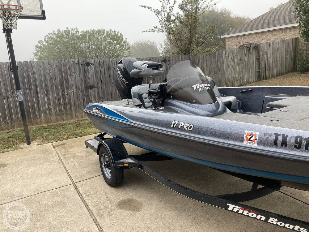 2014 Triton boat for sale, model of the boat is 17 Pro & Image # 19 of 40