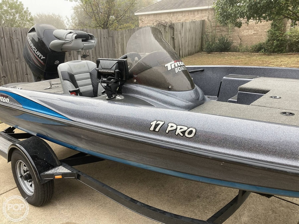 2014 Triton boat for sale, model of the boat is 17 Pro & Image # 20 of 40