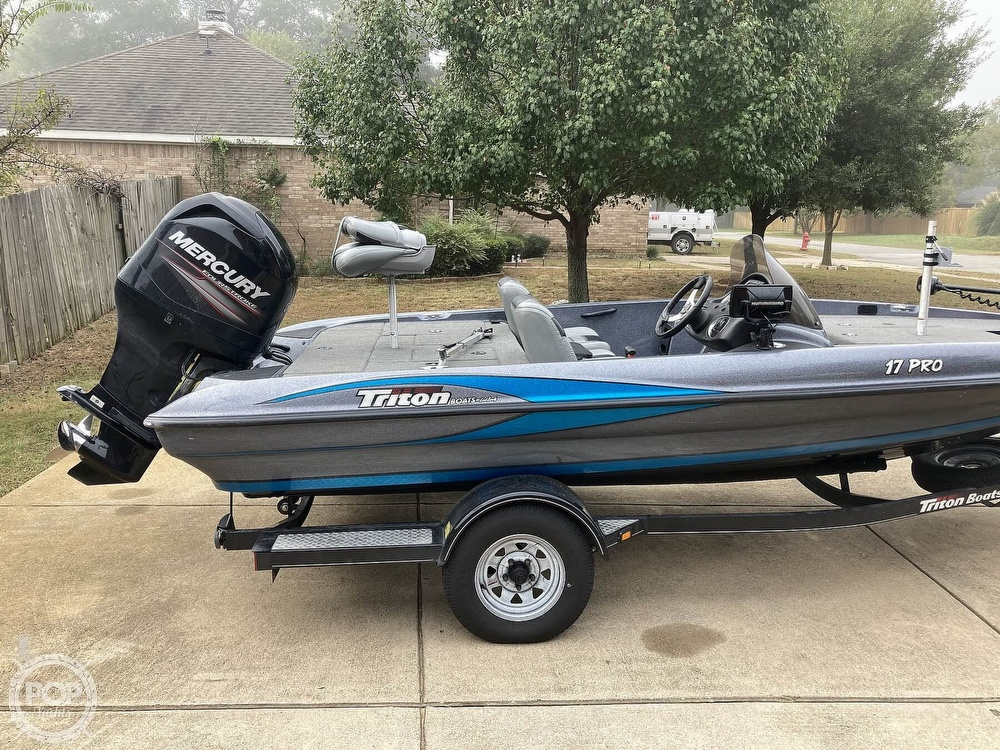 2014 Triton boat for sale, model of the boat is 17 Pro & Image # 22 of 40