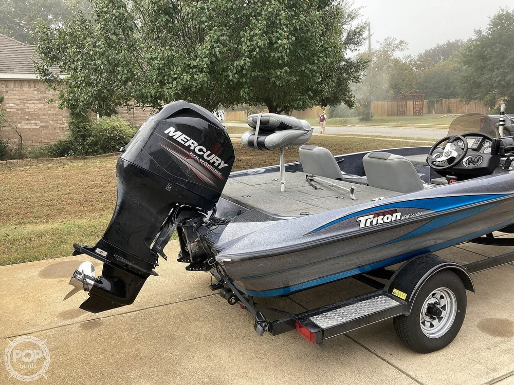 2014 Triton boat for sale, model of the boat is 17 Pro & Image # 23 of 40