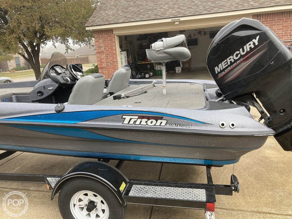 2014 Triton boat for sale, model of the boat is 17 Pro & Image # 33 of 40