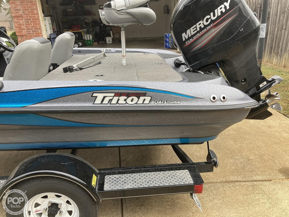2014 Triton boat for sale, model of the boat is 17 Pro & Image # 35 of 40