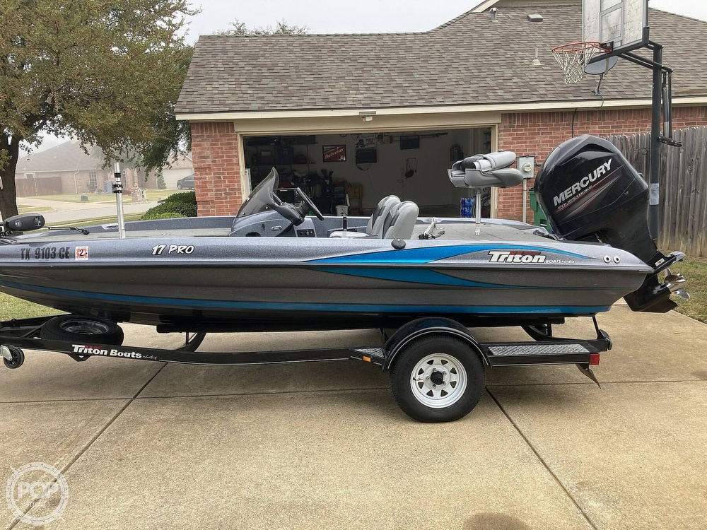 2014 Triton boat for sale, model of the boat is 17 Pro & Image # 36 of 40