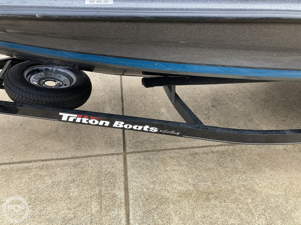 2014 Triton boat for sale, model of the boat is 17 Pro & Image # 39 of 40