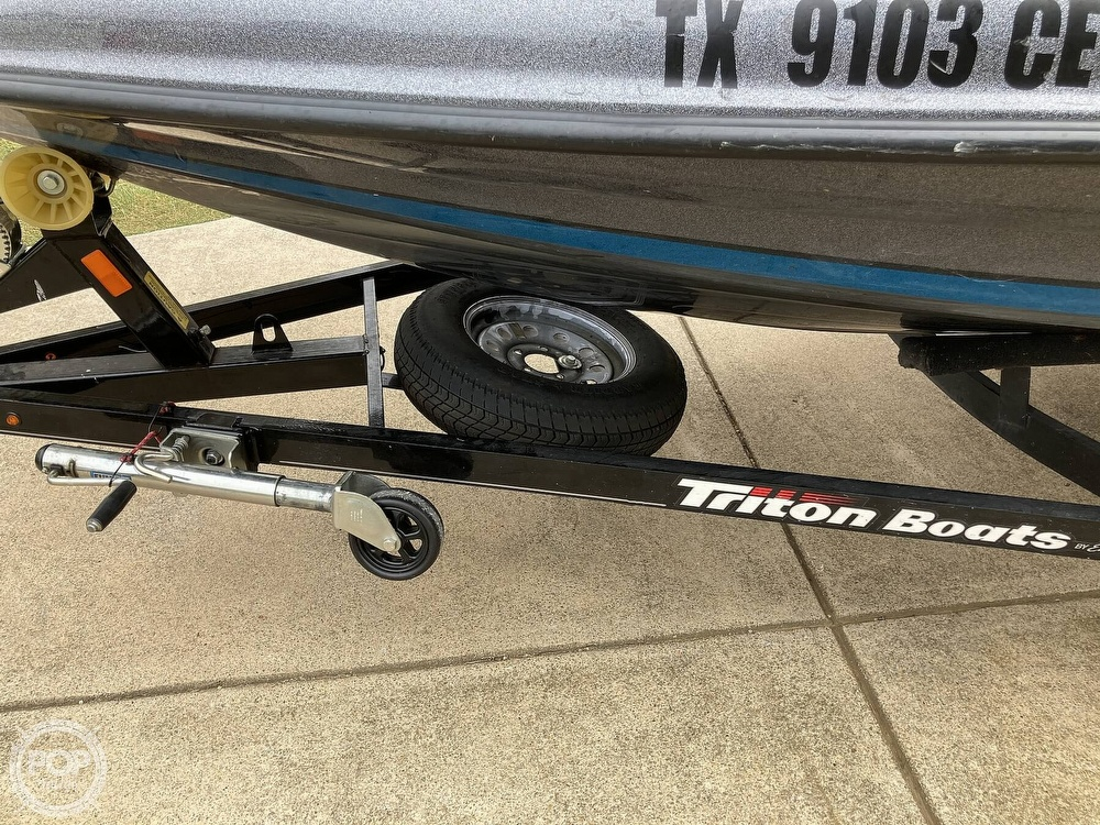 2014 Triton boat for sale, model of the boat is 17 Pro & Image # 40 of 40