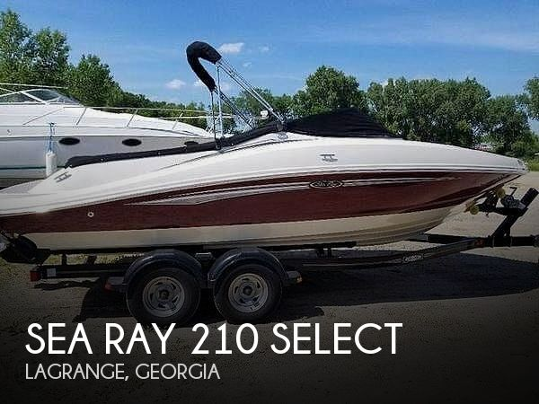 Used Sea Ray Boats For Sale in Columbus, Georgia by owner | 2007 Sea Ray 210 Select