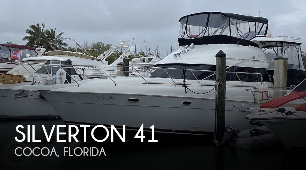 1993 Silverton boat for sale, model of the boat is 41 Aft Cabin & Image # 1 of 40