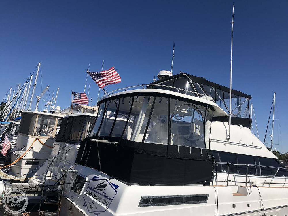 1993 Silverton boat for sale, model of the boat is 41 Aft Cabin & Image # 3 of 40