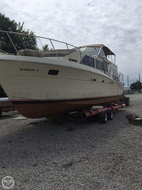 1985 Chris Craft boat for sale, model of the boat is 381 Catalina & Image # 2 of 8
