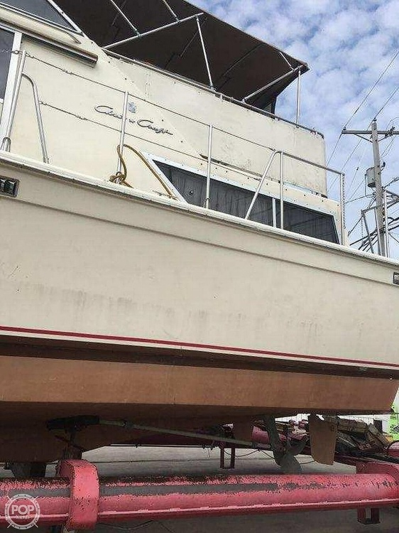 1985 Chris Craft boat for sale, model of the boat is 381 Catalina & Image # 6 of 8