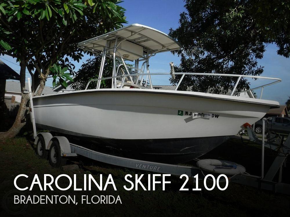 2005 Carolina Skiff boat for sale, model of the boat is 2100 Roll Gunnel & Image # 1 of 40