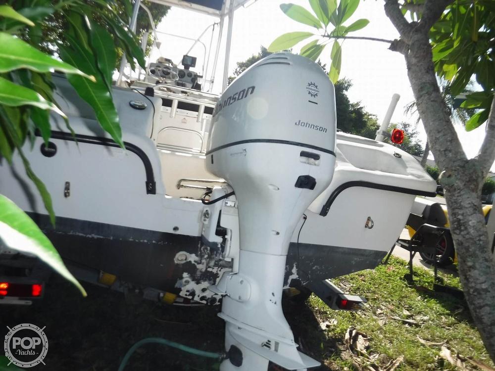 2005 Carolina Skiff boat for sale, model of the boat is 2100 Roll Gunnel & Image # 12 of 40