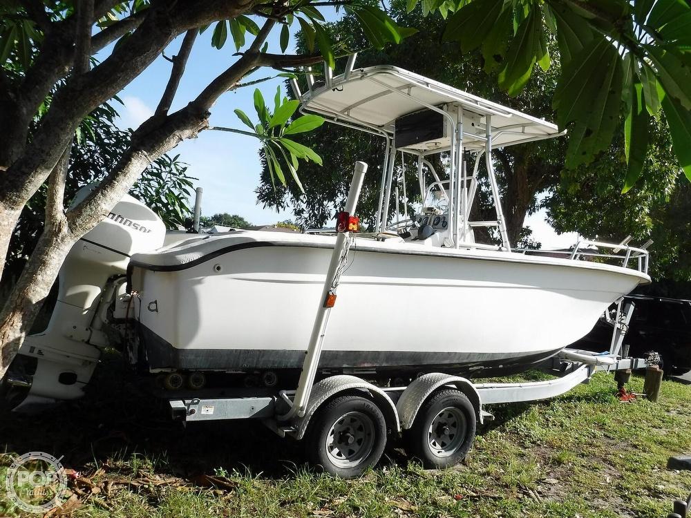 2005 Carolina Skiff boat for sale, model of the boat is 2100 Roll Gunnel & Image # 16 of 40