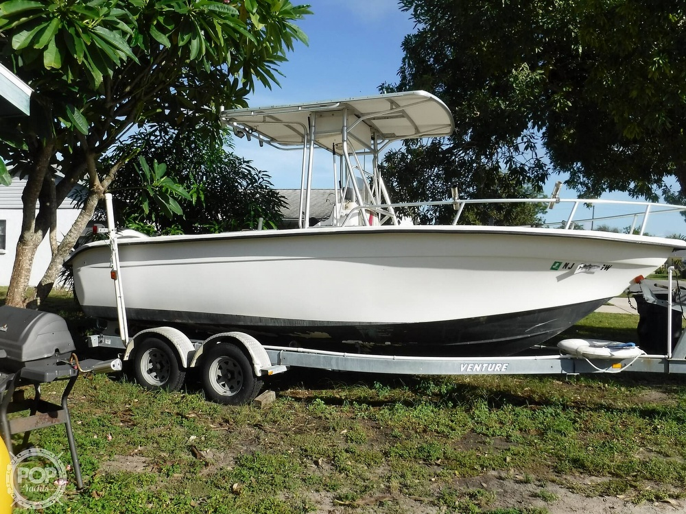 2005 Carolina Skiff boat for sale, model of the boat is 2100 Roll Gunnel & Image # 18 of 40