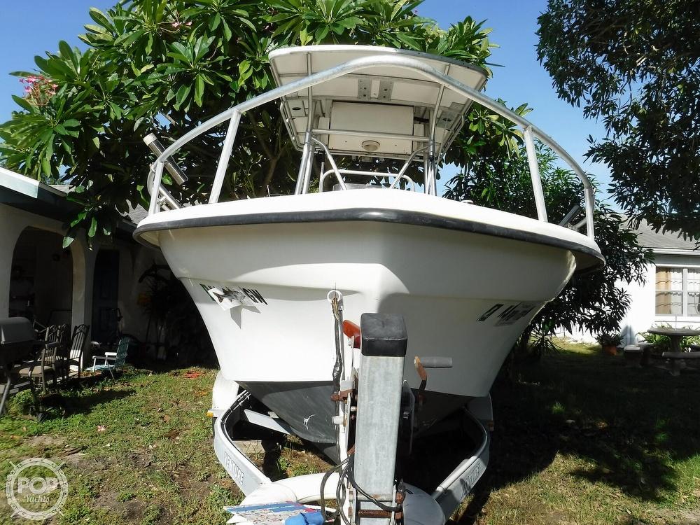 2005 Carolina Skiff boat for sale, model of the boat is 2100 Roll Gunnel & Image # 19 of 40