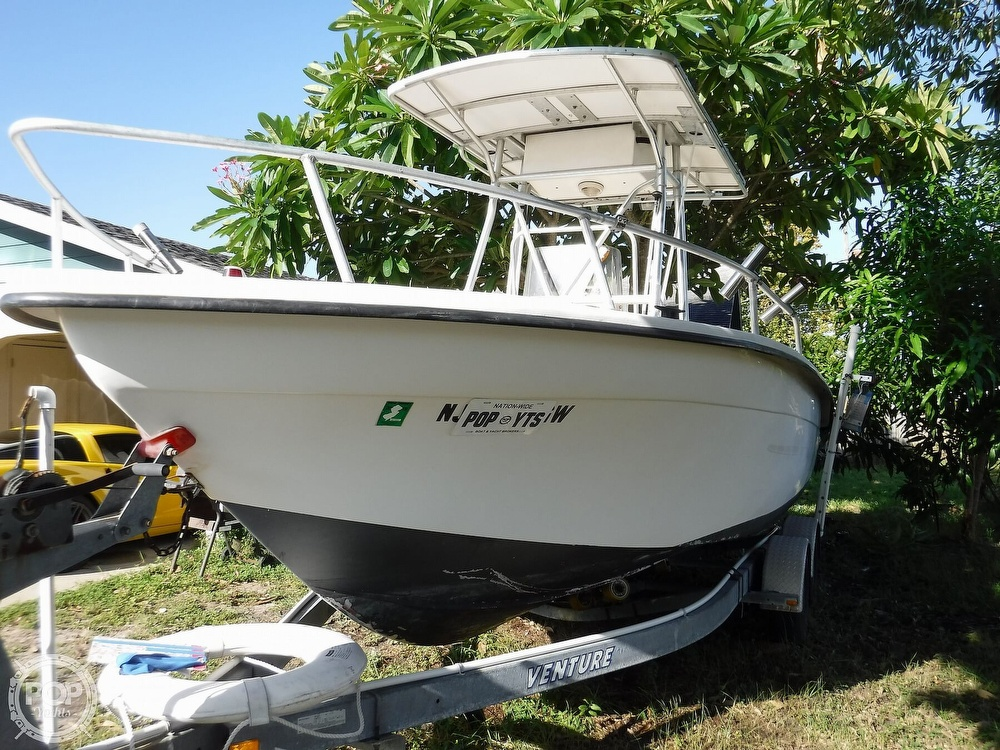 2005 Carolina Skiff boat for sale, model of the boat is 2100 Roll Gunnel & Image # 20 of 40
