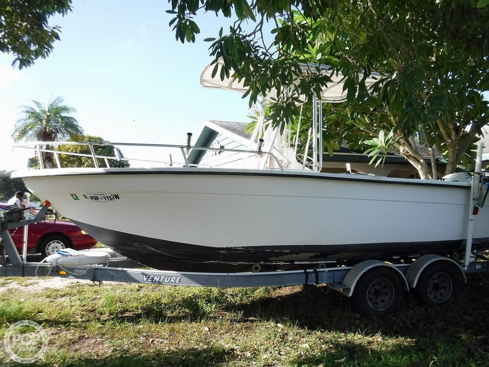 2005 Carolina Skiff boat for sale, model of the boat is 2100 Roll Gunnel & Image # 21 of 40