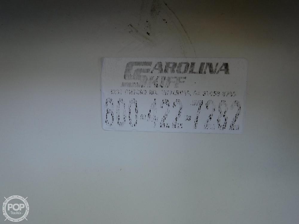 2005 Carolina Skiff boat for sale, model of the boat is 2100 Roll Gunnel & Image # 22 of 40