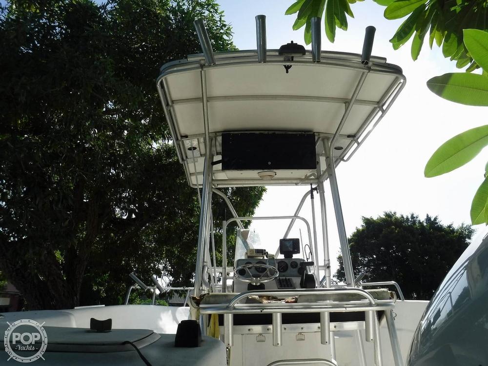 2005 Carolina Skiff boat for sale, model of the boat is 2100 Roll Gunnel & Image # 23 of 40