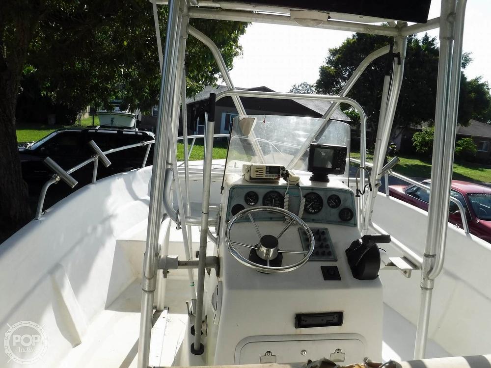 2005 Carolina Skiff boat for sale, model of the boat is 2100 Roll Gunnel & Image # 28 of 40