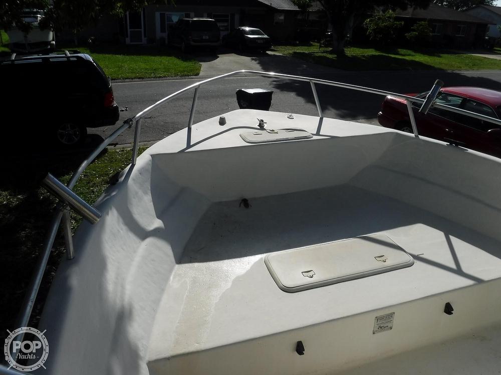 2005 Carolina Skiff boat for sale, model of the boat is 2100 Roll Gunnel & Image # 30 of 40