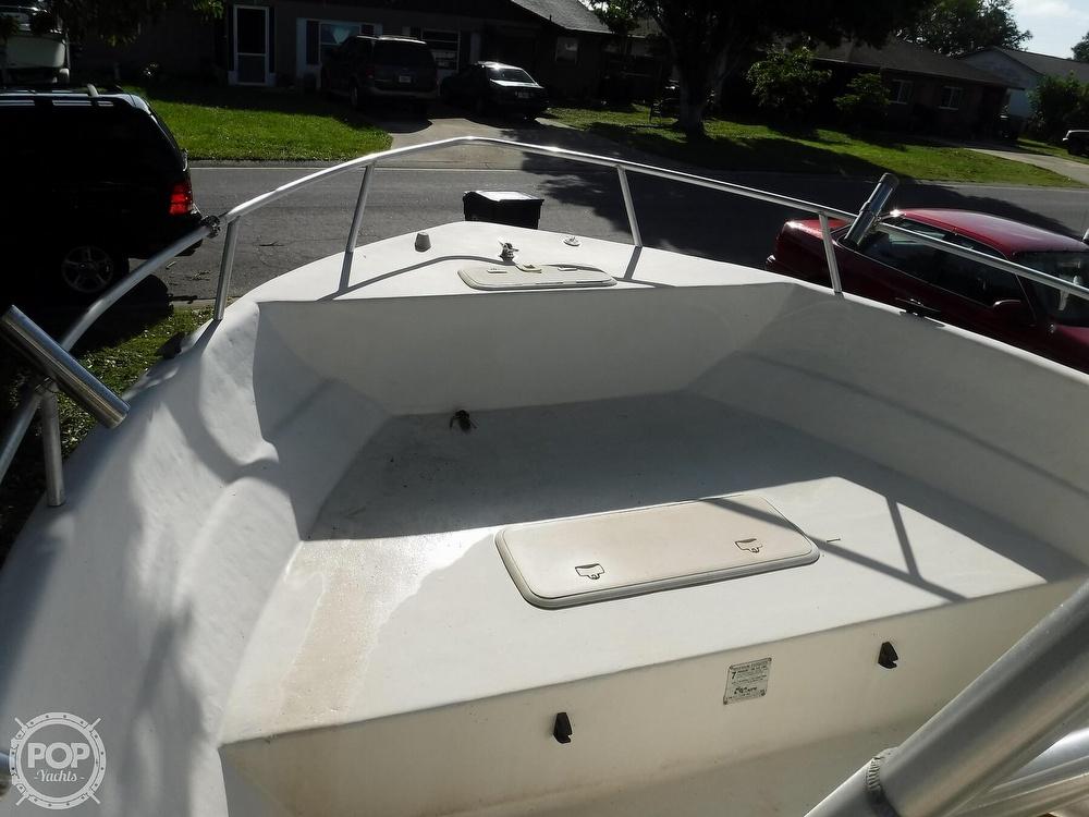 2005 Carolina Skiff boat for sale, model of the boat is 2100 Roll Gunnel & Image # 31 of 40
