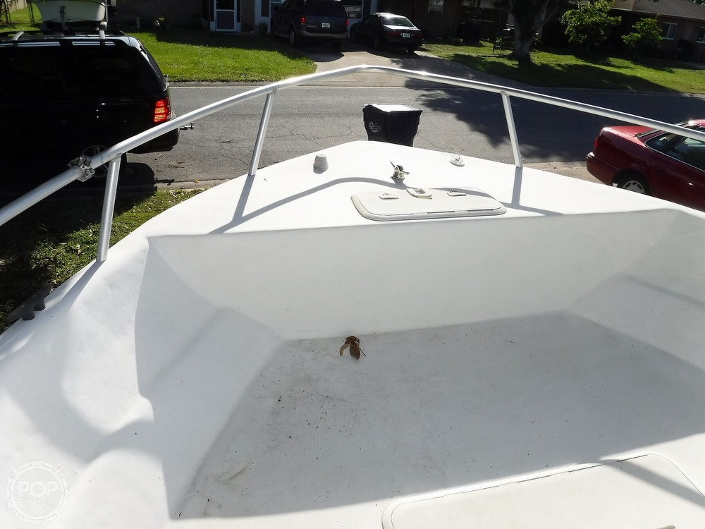 2005 Carolina Skiff boat for sale, model of the boat is 2100 Roll Gunnel & Image # 32 of 40