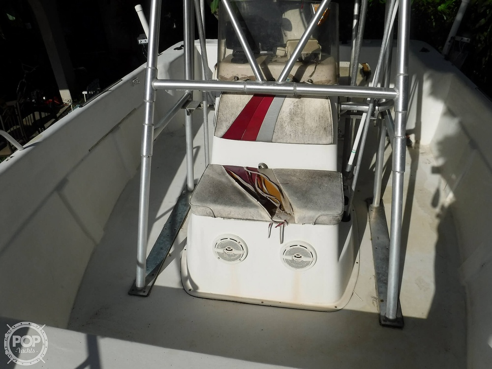 2005 Carolina Skiff boat for sale, model of the boat is 2100 Roll Gunnel & Image # 33 of 40