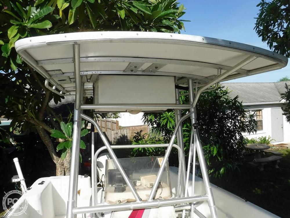 2005 Carolina Skiff boat for sale, model of the boat is 2100 Roll Gunnel & Image # 34 of 40