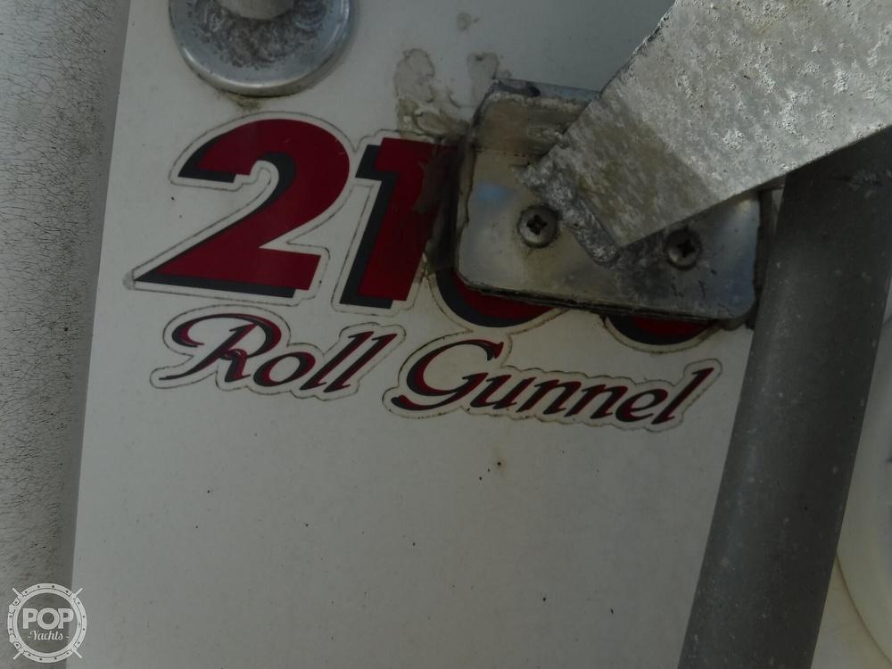 2005 Carolina Skiff boat for sale, model of the boat is 2100 Roll Gunnel & Image # 4 of 40