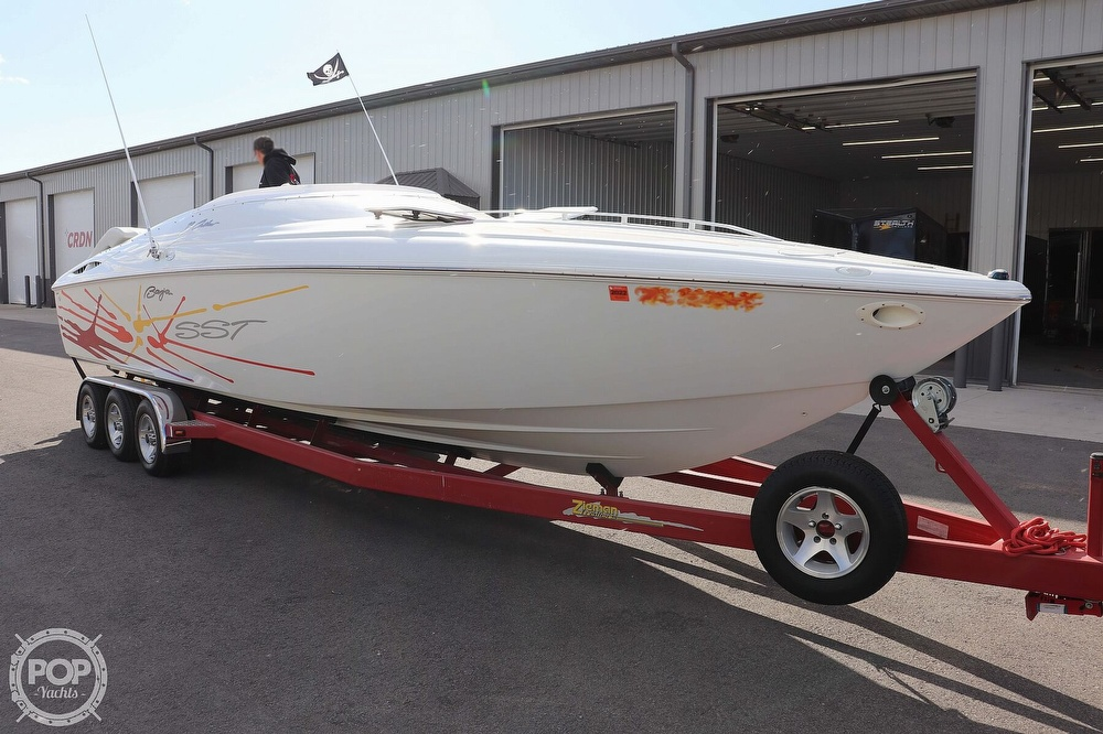 2001 Baja boat for sale, model of the boat is 29 Outlaw SST & Image # 7 of 40