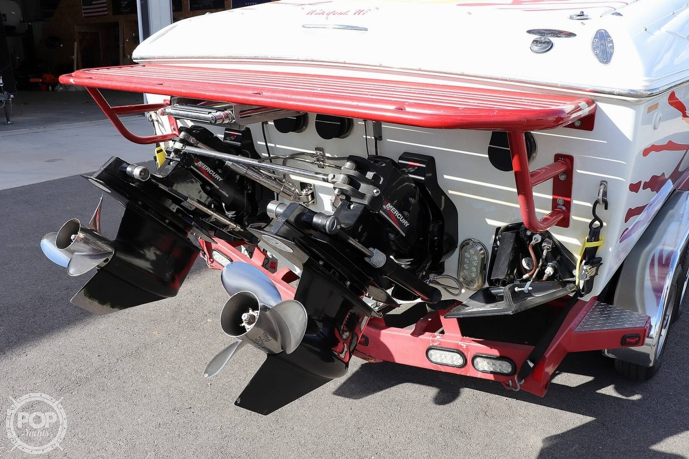 2001 Baja boat for sale, model of the boat is 29 Outlaw SST & Image # 22 of 40