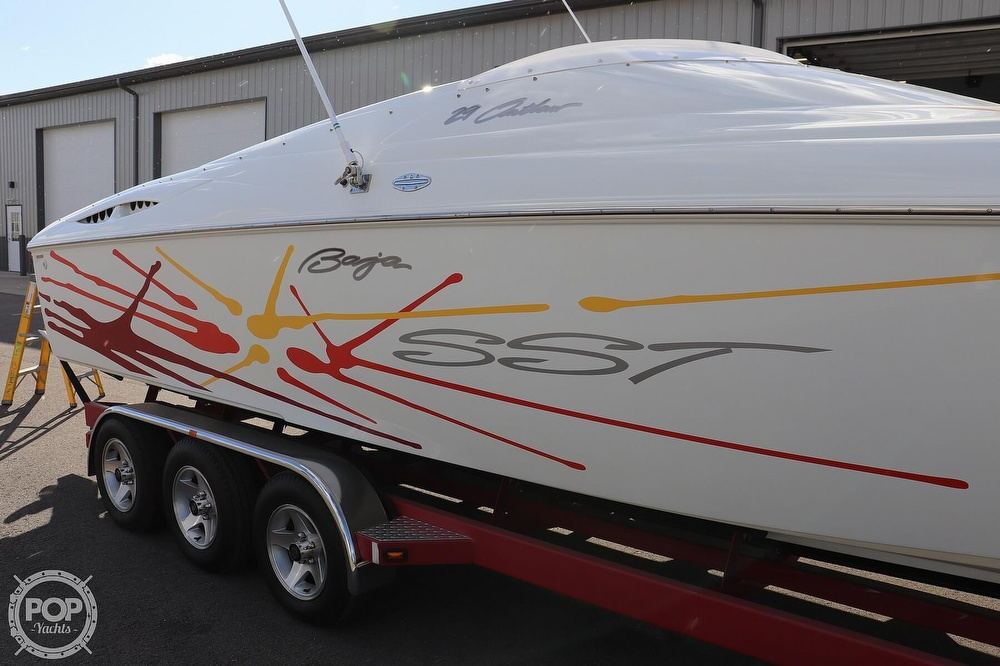 2001 Baja boat for sale, model of the boat is 29 Outlaw SST & Image # 30 of 40