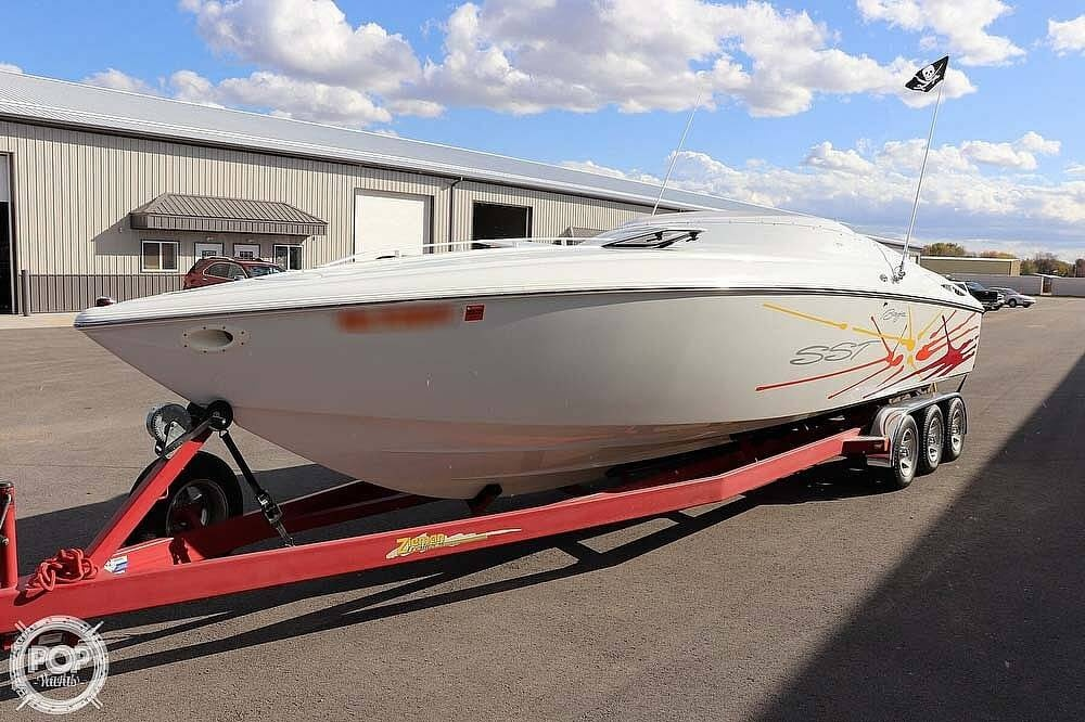 2001 Baja boat for sale, model of the boat is 29 Outlaw SST & Image # 9 of 40