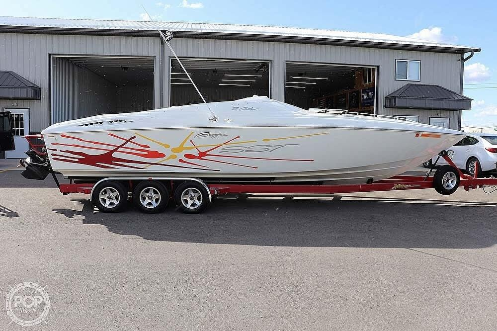 2001 Baja boat for sale, model of the boat is 29 Outlaw SST & Image # 8 of 40